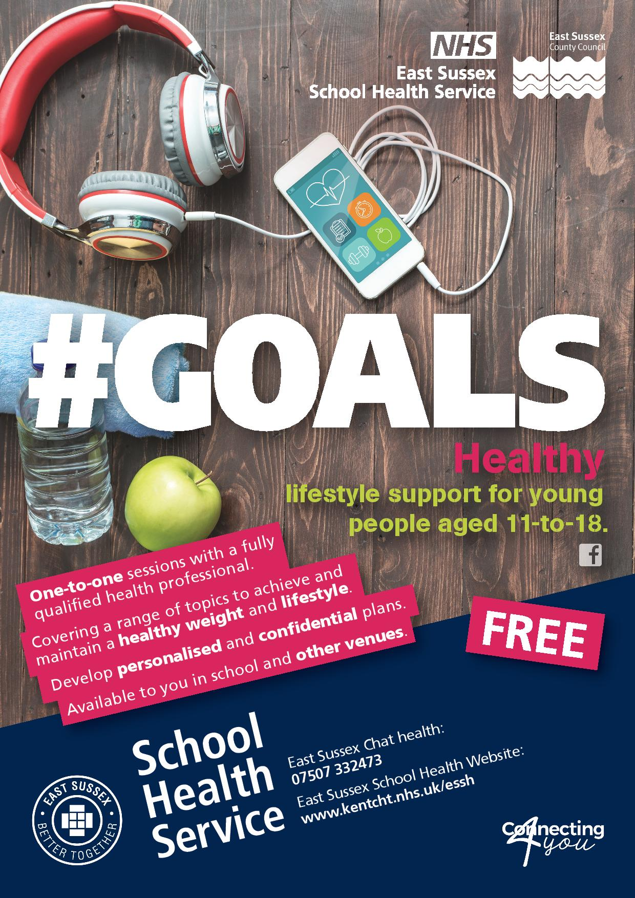 Healthy Lifestyle Support for Young People Aged 11 to 18