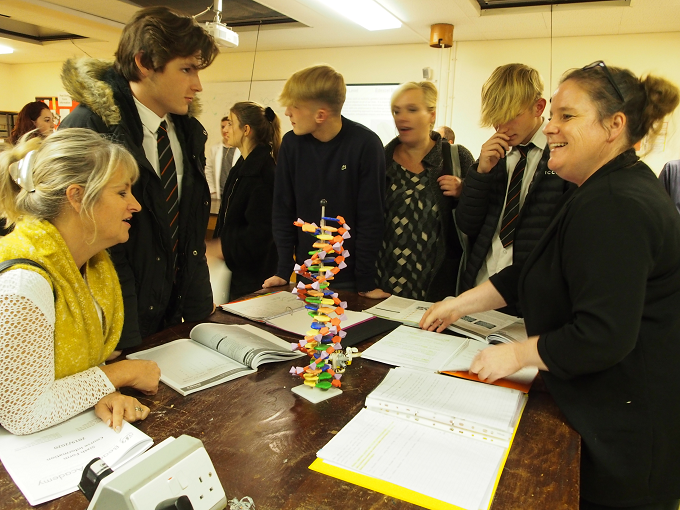 A Successful Sixth Form Open Evening