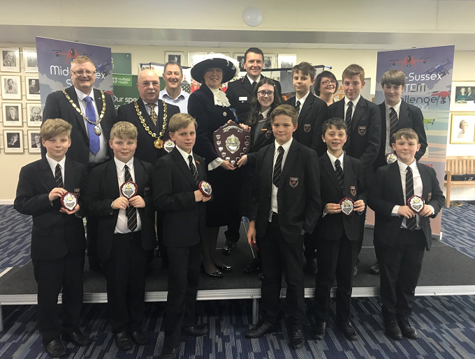Beacon Academy STEM Club win the Mid Sussex STEM Challenge